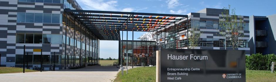 The Hauser Forum University of Cambridge